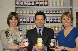 Edward TImpson MP visiting Mrs Darlingtons