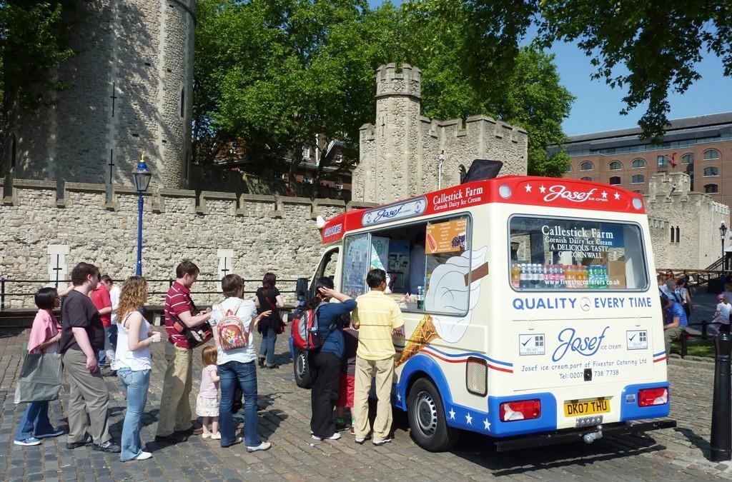 Whitby Morrison Ice Cream Vans