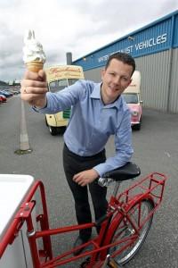 Ed Whitby from Whitby Morrison ice cream vans